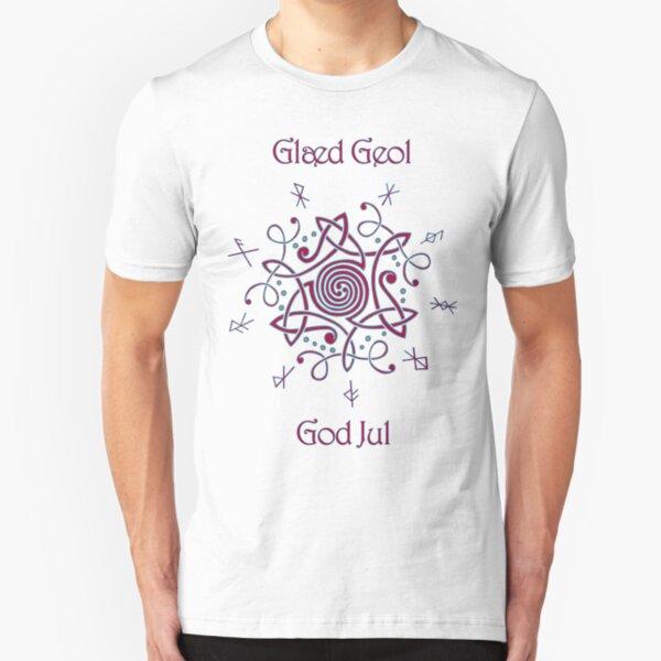 Happy Yule Slim Fit T-Shirt