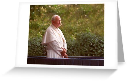 Pope John Paul II by J.K. York
