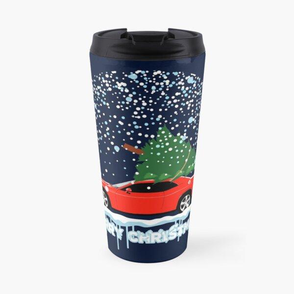 Dodge Challenger Christmas Travel Mug