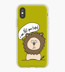I am not your trophy! iPhone Case