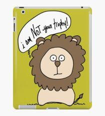I am not your trophy! iPad Case/Skin