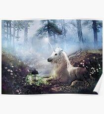 Cast in Stone, Unicorn Poster