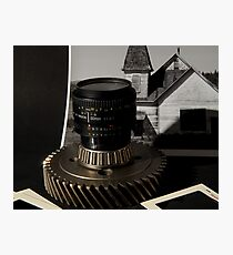 Camera Gear Photographic Print