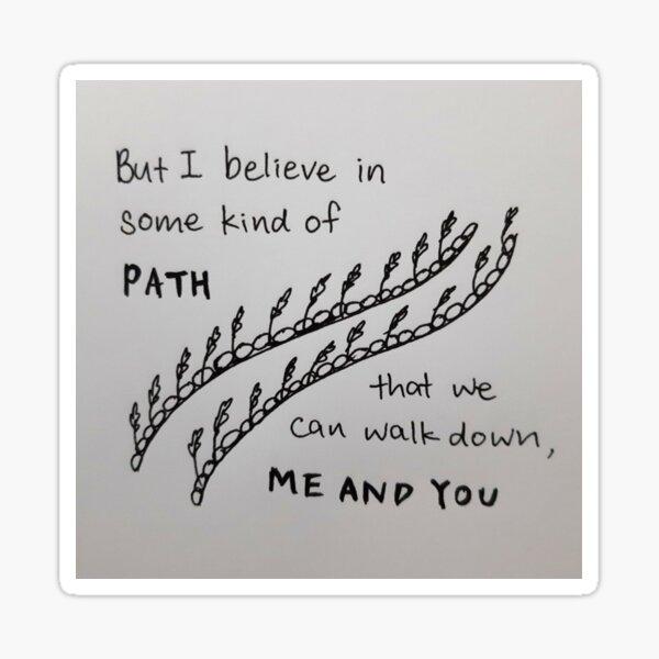 """Nick Cave """"Art dans les bras"""" Fan Art Sticker"""