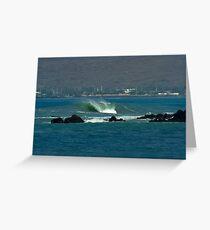 Heavy Hitter on Big Island Greeting Card