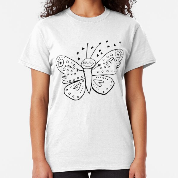 Love Bug Butterfly Classic T-Shirt