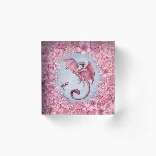 The Dragon of Spring Acrylic Block