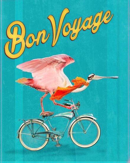 bon voyage posters by john gieg redbubble