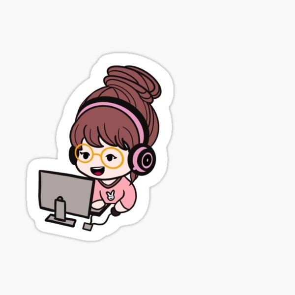 Girl Programmer  Sticker