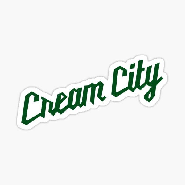 Cream City Milwaukee Basketball Sticker