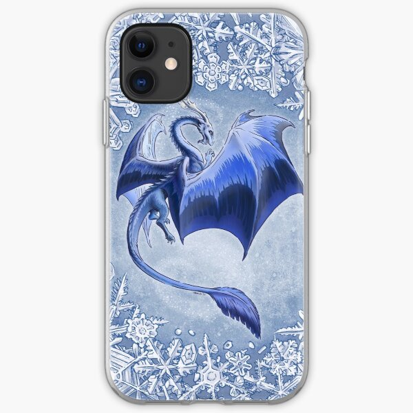 The Dragon of Winter iPhone Soft Case