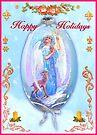 GUARDIAN ANGEL OF WINTER by Judy Mastrangelo