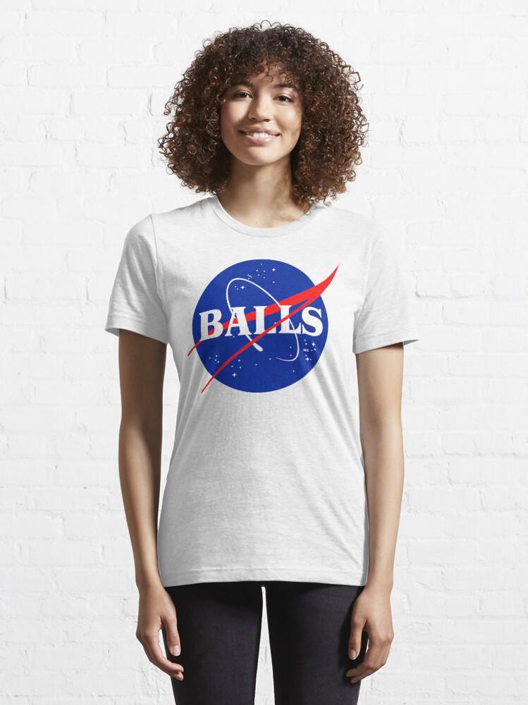 Alternate view of NASA BALLS Essential T-Shirt