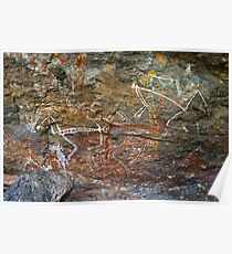 Nourlangie rock art 2 - not for sale Poster