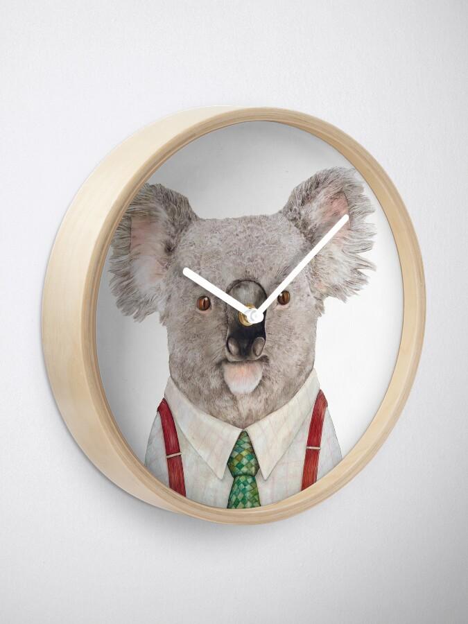 Alternate view of Koala Clock