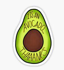 Thaaaaanks Sticker