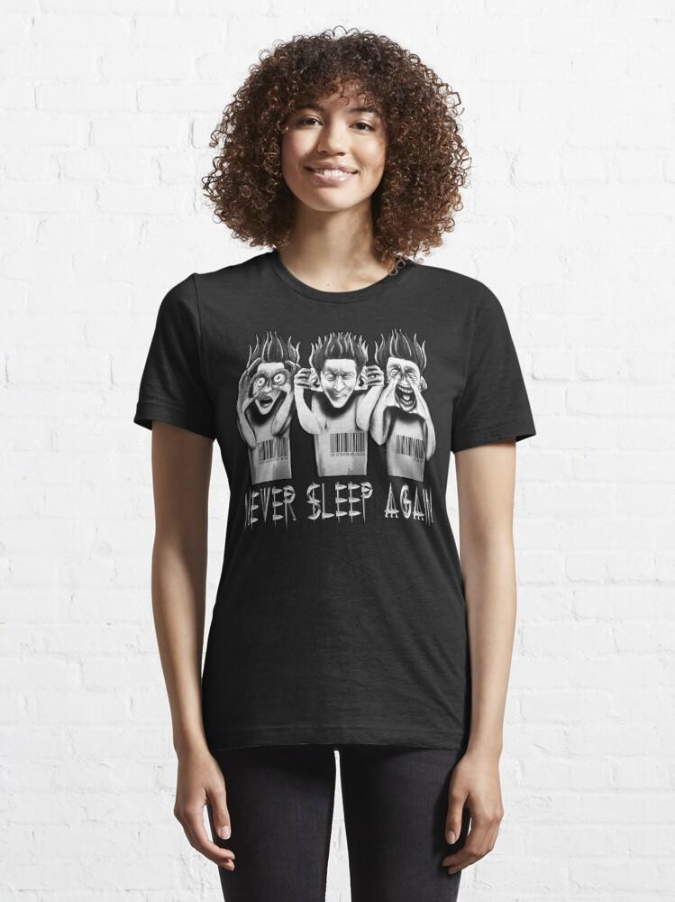 Alternate view of O.D.D TV Never Sleep Again Part 2 Essential T-Shirt