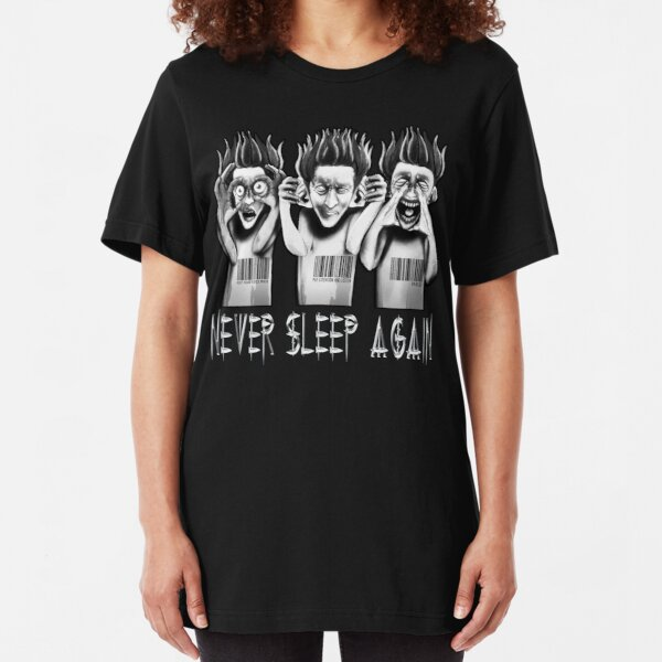 O.D.D TV Never Sleep Again Part 2 Slim Fit T-Shirt