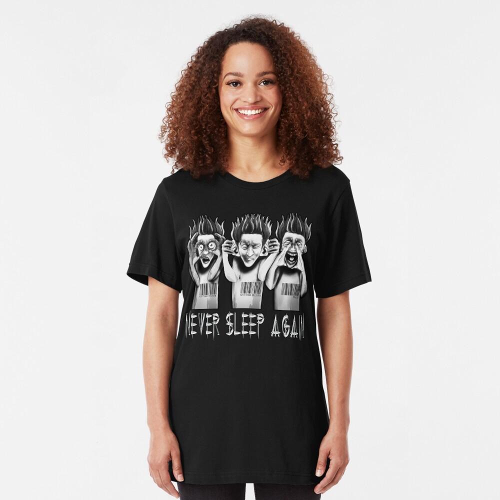 O.D.D TV Never Sleep Again Part 2 Slim Fit T-Shirt
