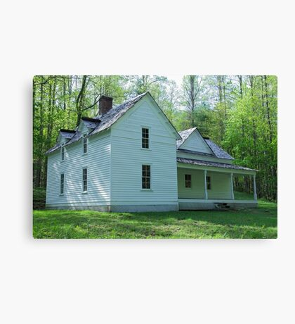 Woody House Canvas Print