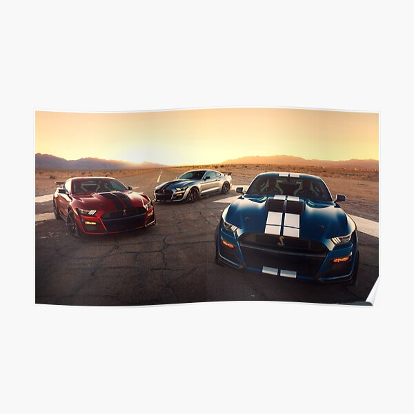 2016//2017 Ford Performance poster//GT//Shelby GT350R Mustang//F-150 Raptor
