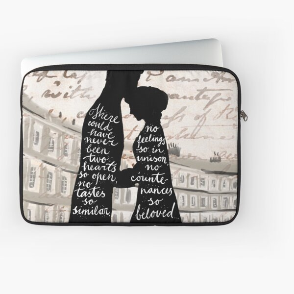 Persuiasion Anne and Captain Wentworth Laptop Sleeve