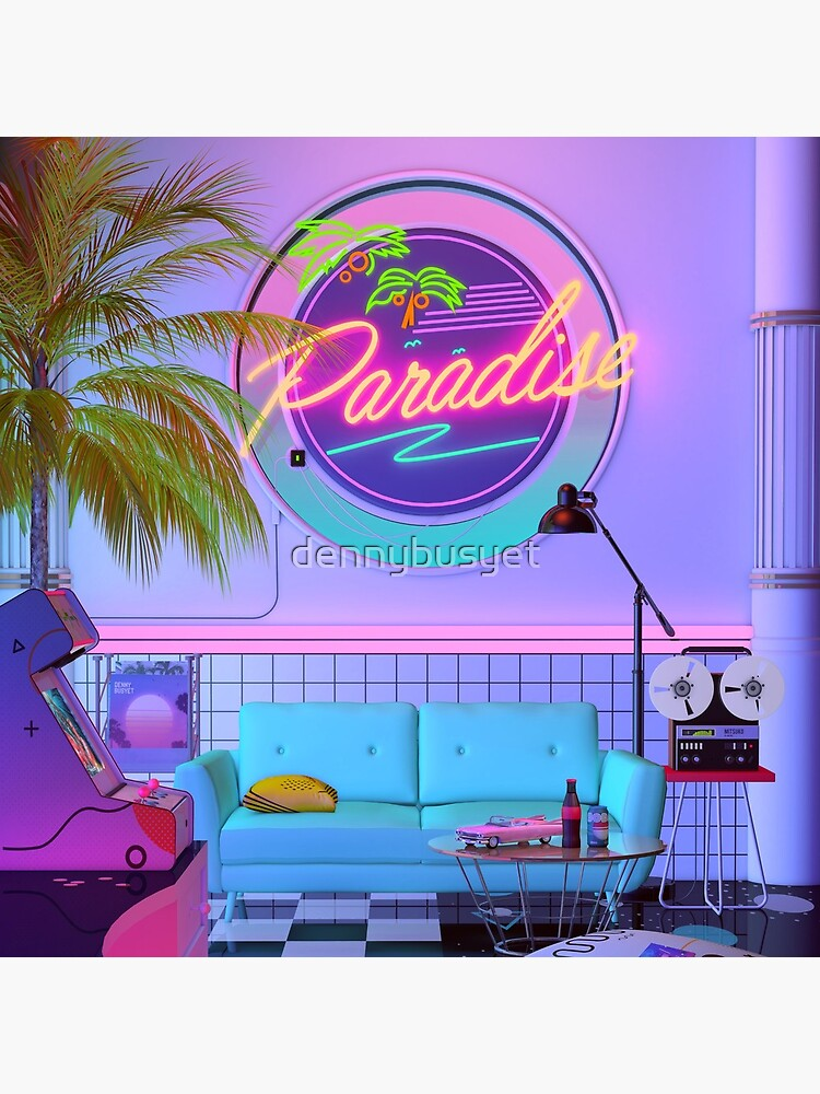 Paradise Wave by dennybusyet
