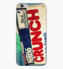 Crunch bar wrapper iPhone Case