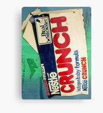Crunch bar wrapper Metal Print