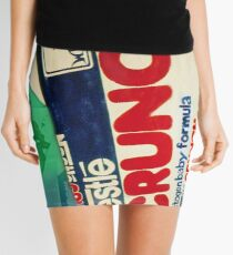 Crunch bar wrapper Mini Skirt