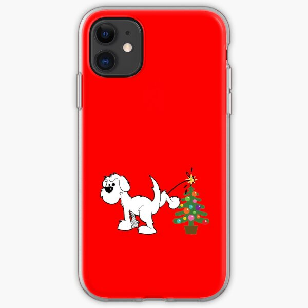 Merry Christmas love DOG iPhone Soft Case