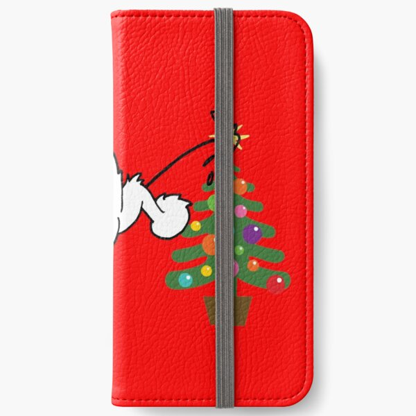 Merry Christmas love DOG iPhone Wallet