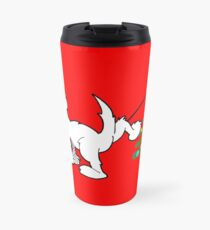 Merry Christmas love DOG Travel Mug