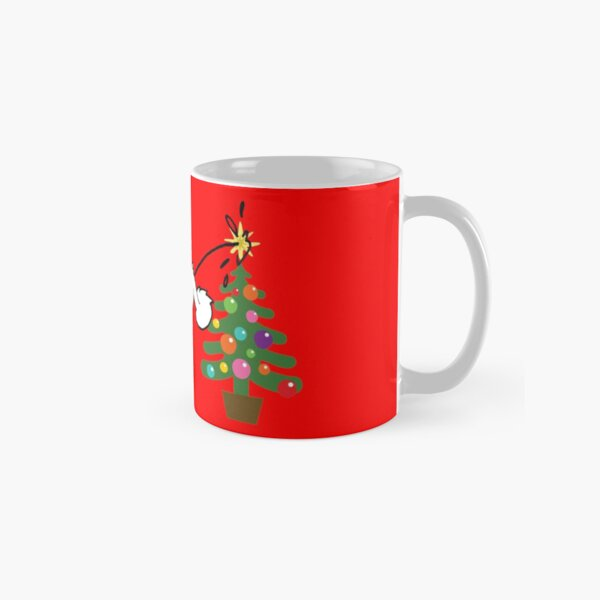 Merry Christmas love DOG Classic Mug