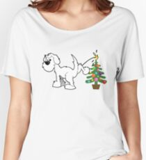 Merry Christmas love DOG Relaxed Fit T-Shirt