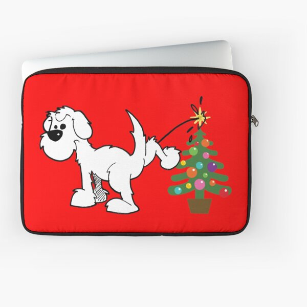 Merry Christmas love DOG Laptop Sleeve