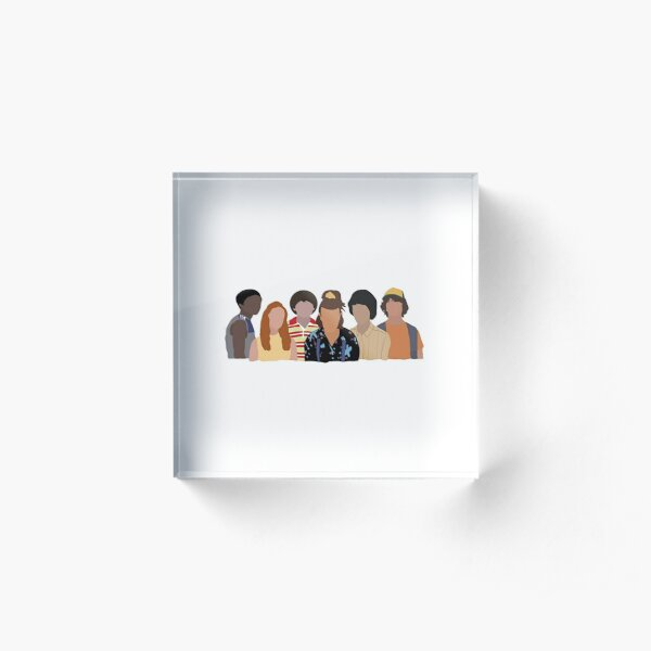 Stranger Things Season 3 Acrylic Block
