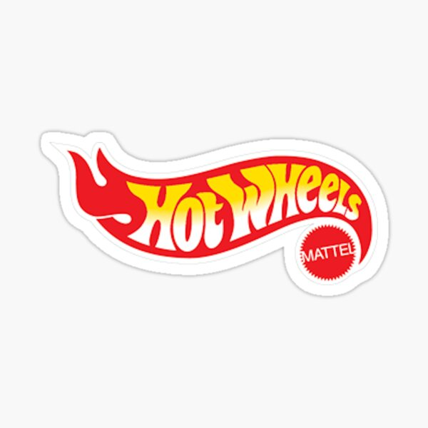 Hot Wheels Logo Sticker