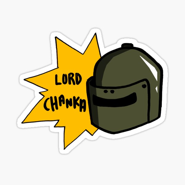 Lord Chanka! Sticker