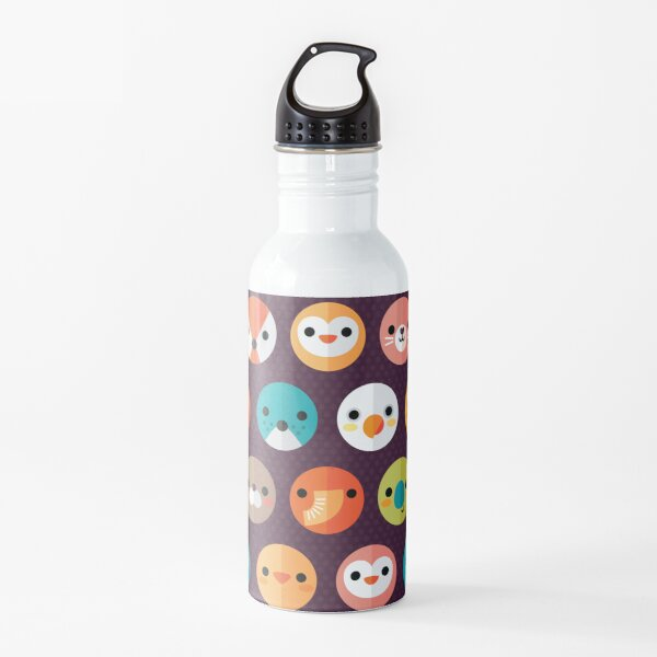 Smiley Faces Water Bottle
