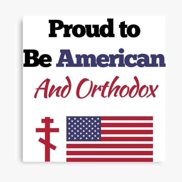 American Orthodox Church Design Canvas Print