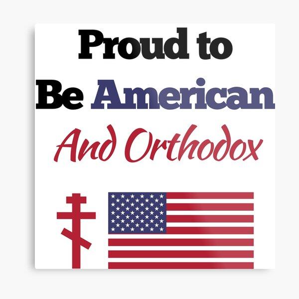 American Orthodox Church Design Metal Print
