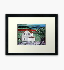 Summer Breeze Off The Lake Framed Print