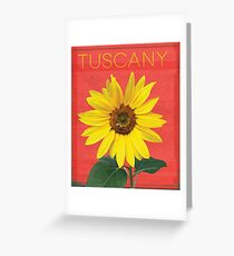 Tuscany. Greeting Card