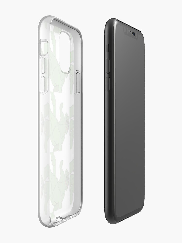 coque iphone x double face | Coque iPhone «Premier design de pepe frappant ton cul pijama ™», par RakanN1