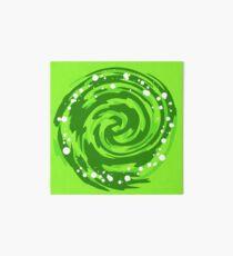 Portal Gun - Green Portal  Art Board Print