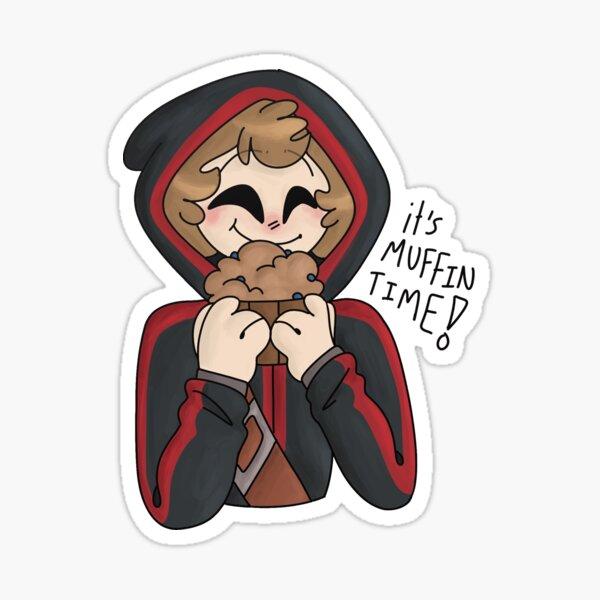 muffinboyhalo Sticker