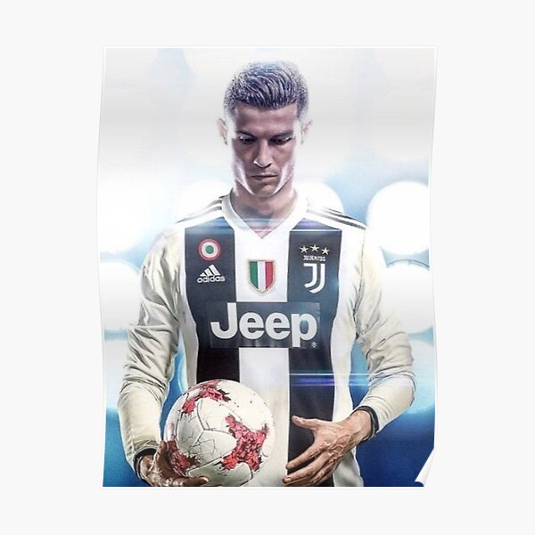 Cristiano Ronaldo à la Juventus Poster