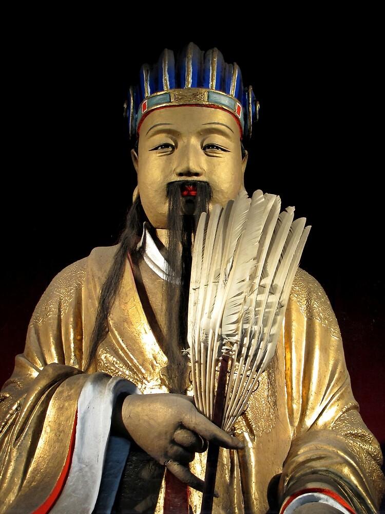 Figura General Zhang Fei Yide 33 cm Red Cliff Versión