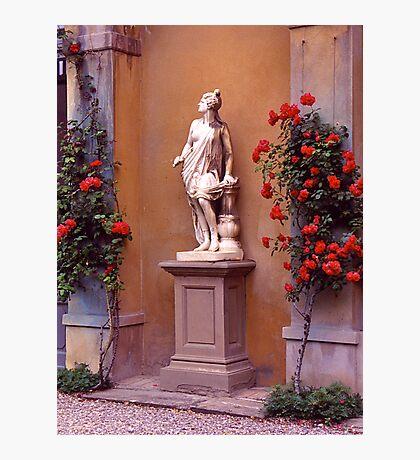 Garden Sculpture, Florence, Italy. Photographic Print